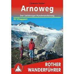Arnoweg túrakalauz Bergverlag Rother német   RO 4293