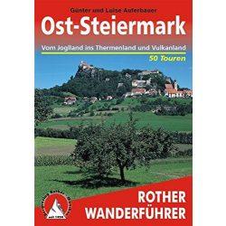 Ost-Steiermark – Vom Joglland ins Thermen- und Vulkanland túrakalauz Bergverlag Rother német   RO 4312