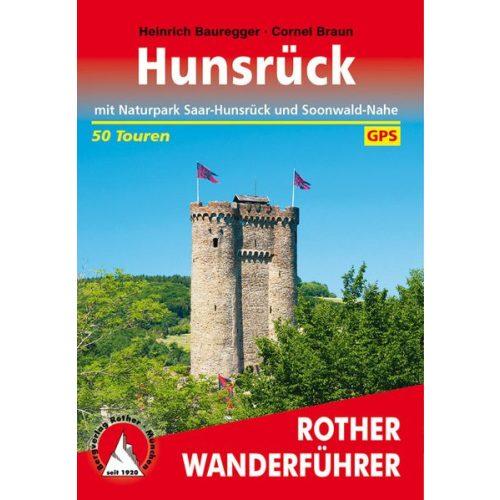 Hunsrück – Mit Naturpark Saar-Hunsrück und Soonwald-Nahe túrakalauz Bergverlag Rother német   RO 4316
