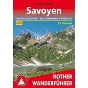 Savoyen I Genf bis Grenoble – Mit Chartreuse und Belledonne túrakalauz Bergverlag Rother német   RO 4321
