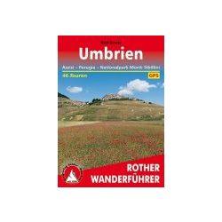 Umbrien – Assisi I Perugia I Nationalpark Monti Sibillini túrakalauz Bergverlag Rother német   RO 4324