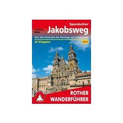 Von den Pyrenäen bis Santiago de Compostela túrakalauz Bergverlag Rother német   RO 4330