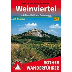 Weinviertel – Mit Marchfeld und Donauauen túrakalauz Bergverlag Rother német   RO 4331