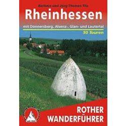 Rheinhessen – Mit Donnersberg, Alsenz- Gran- und Lauertal túrakalauz Bergverlag Rother német   RO 4337