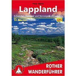 Lappland – Schweden, Finnland und Norwegen mit Lofoten túrakalauz Bergverlag Rother német   RO 4340