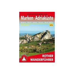 Marken I Adriaküste túrakalauz Bergverlag Rother német   RO 4342