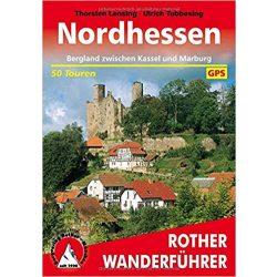 Nordhessen túrakalauz Bergverlag Rother német   RO 4346