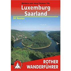 Luxemburg I Saarland túrakalauz Bergverlag Rother német   RO 4349