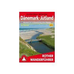 Dänemark I Jütland túrakalauz Bergverlag Rother német   RO 4352