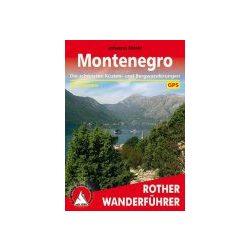 Montenegro túrakalauz Bergverlag Rother német   RO 4358
