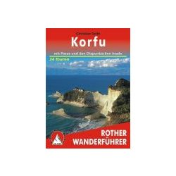 Korfu – Mit Paxos und Diapontischen Inseln túrakalauz Bergverlag Rother német   RO 4371
