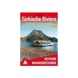 Türkische Riviera – Lykische Küste túrakalauz Bergverlag Rother német   RO 4374