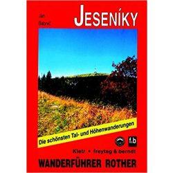 Jeseniky túrakalauz Bergverlag Rother német   RO 4378