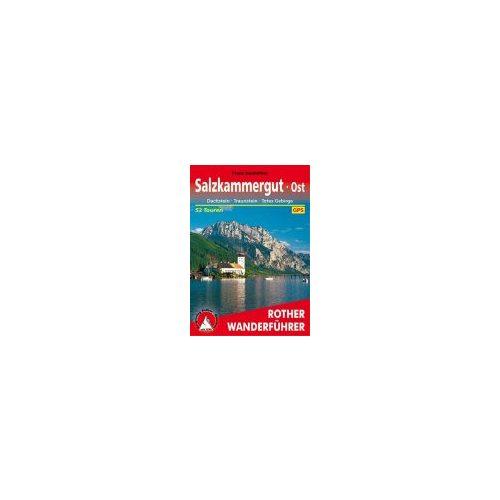 Salzkammergut Ost túrakalauz Bergverlag Rother német   RO 4384