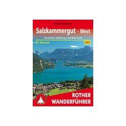 Salzkammergut West túrakalauz Bergverlag Rother német   RO 4385