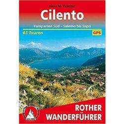 Cilento – Kampanien Süd I Salerno bis Sapri  túrakalauz Bergverlag Rother német   RO 4389