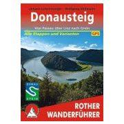 Donausteig túrakalauz Bergverlag Rother német   RO 4390