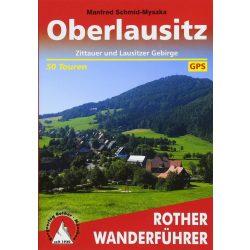 Oberlausitz túrakalauz Bergverlag Rother német   RO 4399