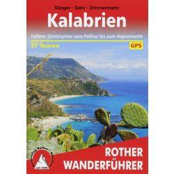 Kalabrien túrakalauz Bergverlag Rother német   RO 4403