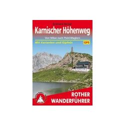 Karnischer Höhenweg – Von Sillian nach Thörl-Maglern túrakalauz Bergverlag Rother német   RO 4404