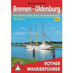 Bremen I Oldenburg túrakalauz Bergverlag Rother német   RO 4405