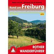 Freiburg, Rund um túrakalauz Bergverlag Rother német   RO 4417