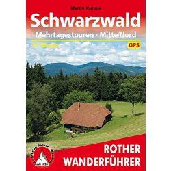 Schwarzwald – Mehrtagestouren Mitte I Nord túrakalauz Bergverlag Rother német   RO 4420