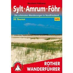 Sylt I Amrum I Föhr túrakalauz Bergverlag Rother német   RO 4421