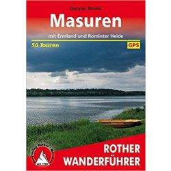 Masuren – Mit Ermland und Rominter Heide túrakalauz Bergverlag Rother német   RO 4430