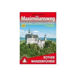 Maximiliansweg túrakalauz Bergverlag Rother német   RO 4441