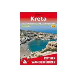 Kreta túrakalauz Bergverlag Rother német   RO 4442