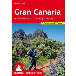 Gran Canaria túrakalauz, térkép Bergverlag Rother 2019, RO 4459