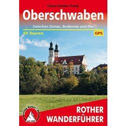 Oberschwaben – Zwischen Donau, Bodensee und Iller túrakalauz Bergverlag Rother német   RO 4462