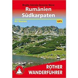 Rumänien I Südkarpaten túrakalauz Bergverlag Rother német   RO 4467