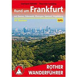 Frankfurt, Rund um túrakalauz Bergverlag Rother német   RO 4468