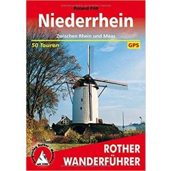 Niederrhein túrakalauz Bergverlag Rother német   RO 4469