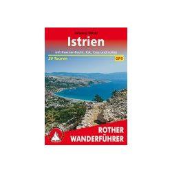 Istrien túrakalauz Bergverlag Rother német   RO 4477