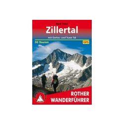 Zillertal túrakalauz Bergverlag Rother német   RO 4478