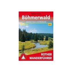 Böhmerwald túrakalauz Bergverlag Rother német   RO 4480