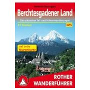 Berchtesgadener Landmit extra Tourenkarte túrakalauz Bergverlag Rother német   RO 4483
