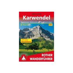 Karwendelmit extra Tourenkarte túrakalauz Bergverlag Rother német   RO 4484