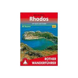 Rhodos túrakalauz Bergverlag Rother német   RO 4485