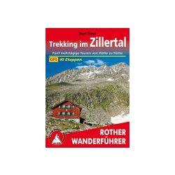 Zillertal, Trekking im túrakalauz Bergverlag Rother német   RO 4486