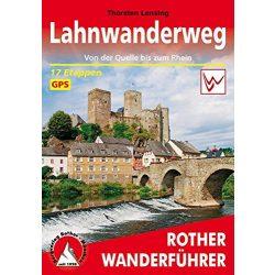 Lahnwanderweg túrakalauz Bergverlag Rother német   RO 4492