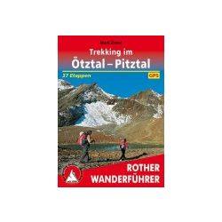 Ötztal und Pitztal, Trekking im túrakalauz Bergverlag Rother német   RO 4499