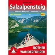 SalzAlpenSteig túrakalauz Bergverlag Rother német   RO 4505
