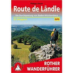 Route de Ländle túrakalauz Bergverlag Rother német   RO 4515
