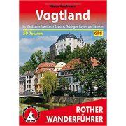 Vogtland túrakalauz Bergverlag Rother német   RO 4518