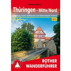 Thüringen Mitte und Nord túrakalauz Bergverlag Rother német   RO 4519