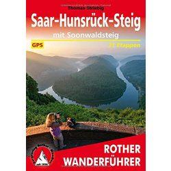 Saar-Hunsrück-Steig – Mit Soonwaldsteig túrakalauz Bergverlag Rother német   RO 4521